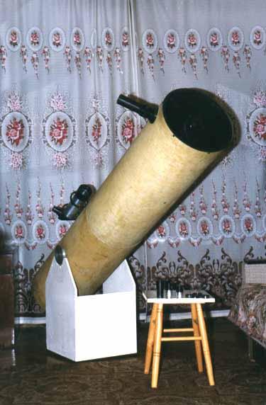 Домашний телескоп своими руками фото